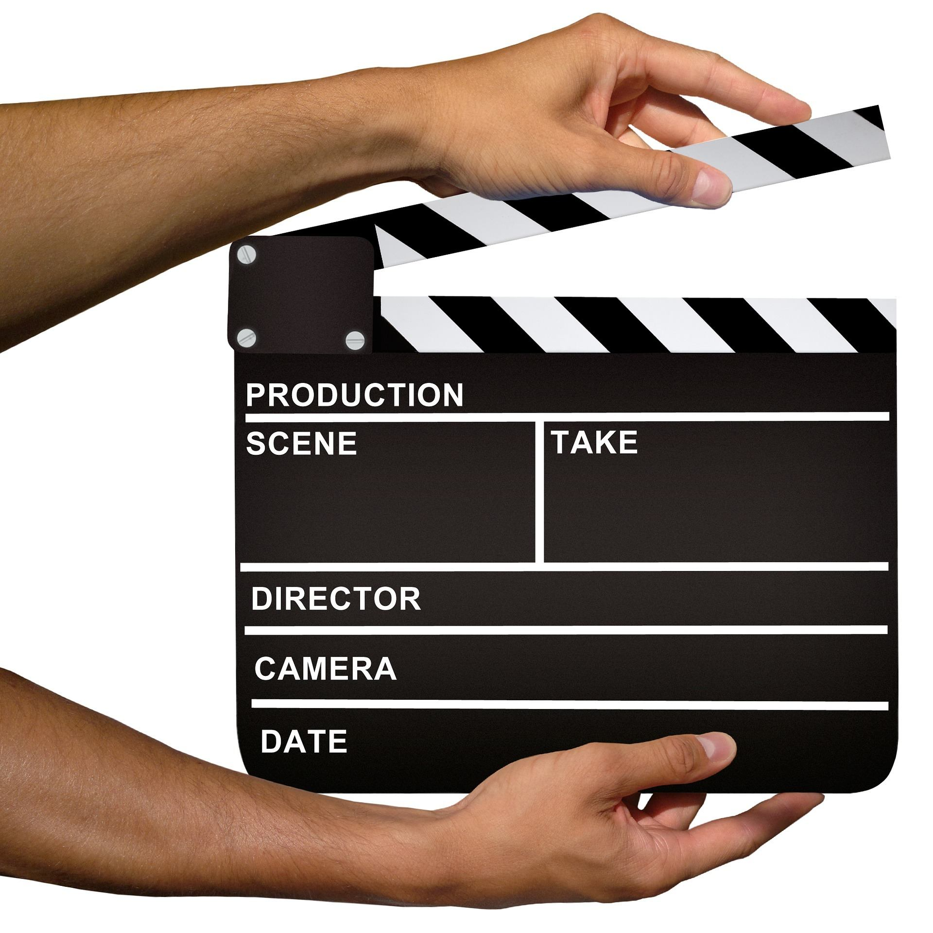 clapperboard production